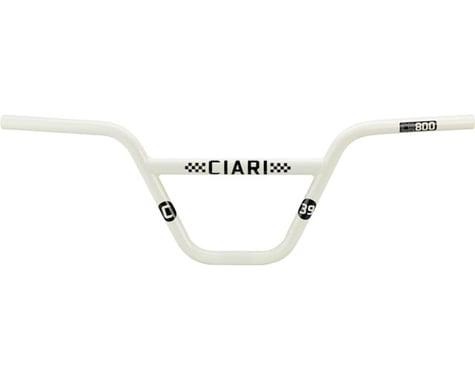 """Ciari Crossbow CM800 BMX Handlebar - 8"""", Spanish White"""