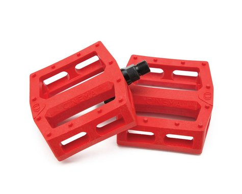 """Cinema CK PC Pedals (Chad Kerley) (Red) (9/16"""")"""