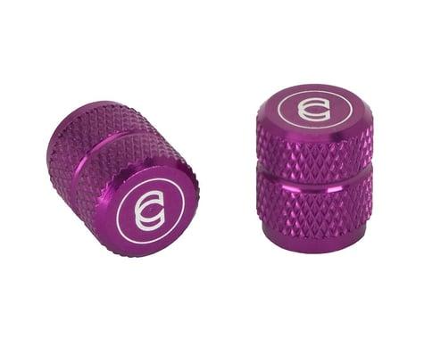 Cinema Alloy Valve Caps (Schrader) (Purple)