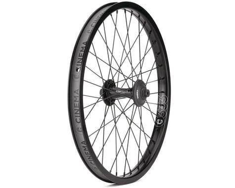 Cinema ZX Front Wheel (Black) (20 x 1.75)