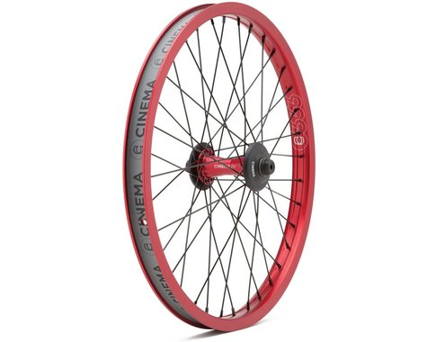 Cinema ZX Front Wheel (Red) (20 x 1.75)