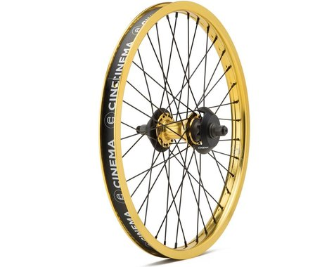 Cinema ZX Cassette Wheel (Gold) (20 x 1.75)