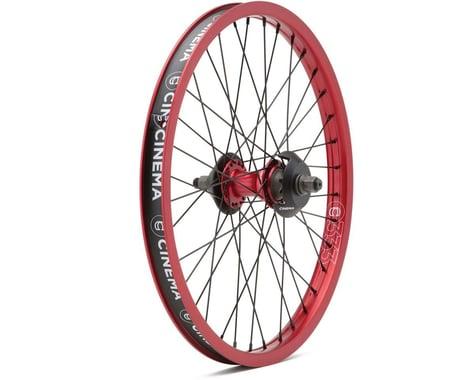 Cinema ZX Cassette Wheel (Red) (20 x 1.75)