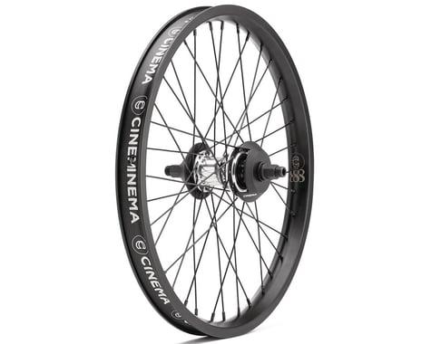 Cinema FX2 888 Freecoaster Wheel (LHD) (Polished/Black) (20 x 1.75)