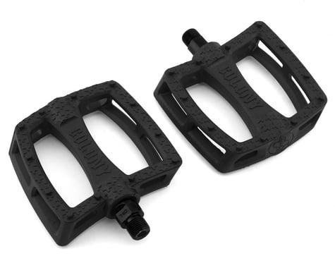 "Colony Fantastic Plastic Pedals (Black) (Pair) (9/16"")"