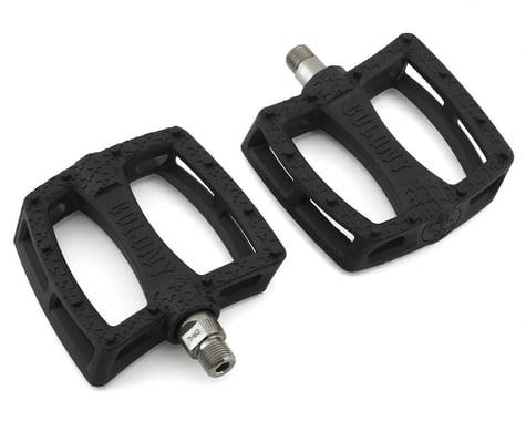 "Colony Fantastic Plastic Pedals (Black/Silver) (Pair) (9/16"")"