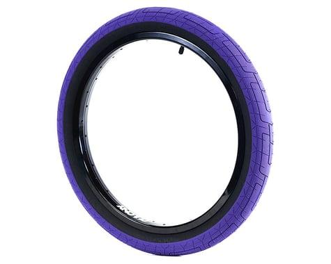 "Colony Griplock Tire (Dark Purple/Black) (20"") (2.2"")"