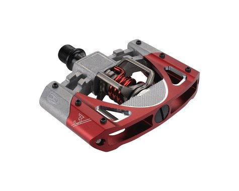 Crankbrothers Mallet 3 Pedals (Raw/Red)