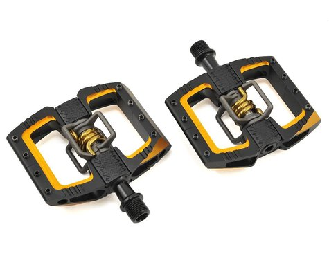 Crankbrothers Mallet DH 11 Pedals (Black/Gold)