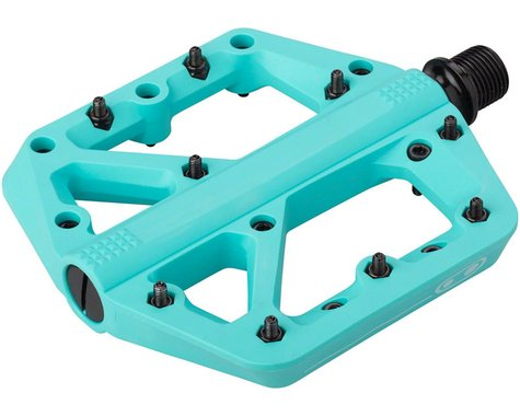 Crankbrothers Stamp 1 Platform Pedals (Turquoise) (S)