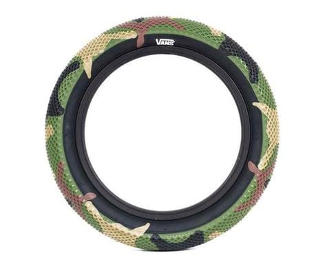 """Cult Vans Tire (Green Camo/Black) (18"""") (2.3"""")"""