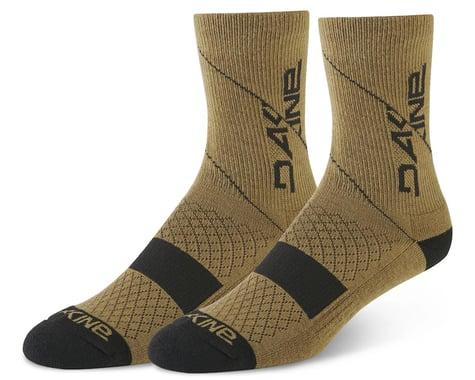 Dakine Berm Cycling Socks (Dark Olive) (S/M)