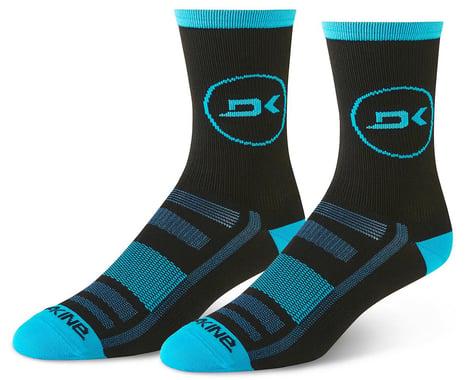 Dakine Singletrack Cycling Socks (Cyan/Black) (S/M)