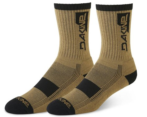 Dakine Step Up Cycling Socks (Dark Olive) (S/M)
