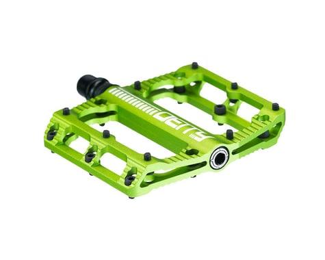 "Deity Black Kat Pedals (Green) (Pair) (9/16"")"