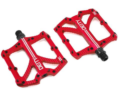 """Deity Bladerunner Pedals (Red) (9/16"""")"""