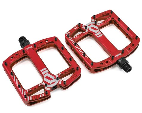 """Deity TMAC Pedals (Red Anodized) (9/16"""")"""