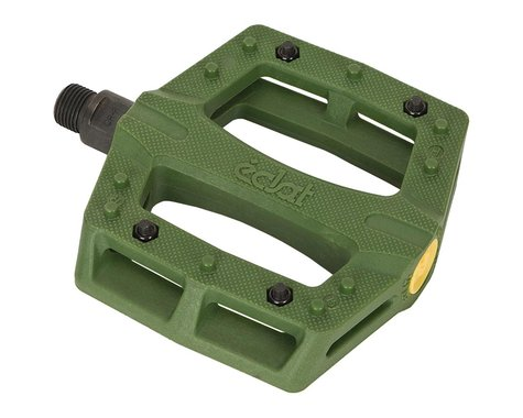 """Eclat Contra Composite Platform Pedals (Army Green) (9/16"""")"""