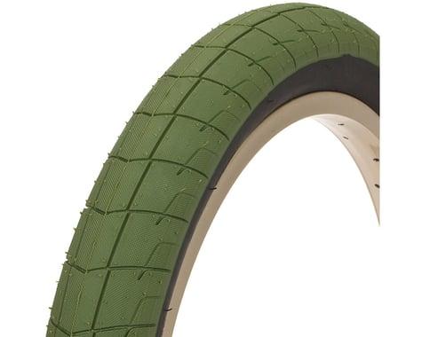 "Eclat Fireball Tire (Army Green/Black) (20"") (2.4"")"