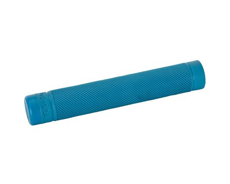 Fiction Troop Flangeless Grips (Bright Blue) (Pair)