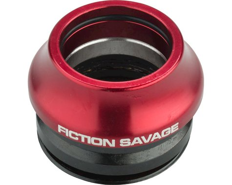 """Fiction Savage Integrated Headset (Red) (1-1/8"""")"""