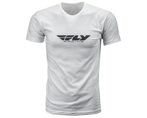 Fly Racing Corporate Tee (White) (2XL)