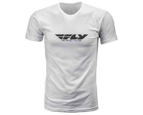 Fly Racing Corporate Tee (White) (M)