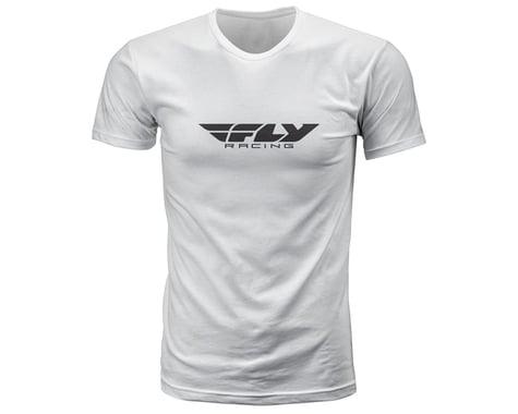 Fly Racing Corporate Tee (White) (S)