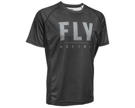 Fly Racing Super D Jersey (Black) (M)