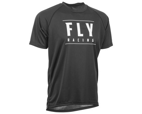 Fly Racing Action Jersey (Black/White) (2XL)