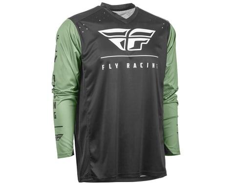Fly Racing Radium Jersey (Black/Sage) (XL)