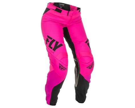 Fly Racing Women's Lite Race Pants (Neon Pink/Black) (5/6)