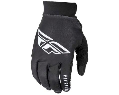 Fly Racing Pro Lite Mountain Bike Gloves (Black/White) (2XL)