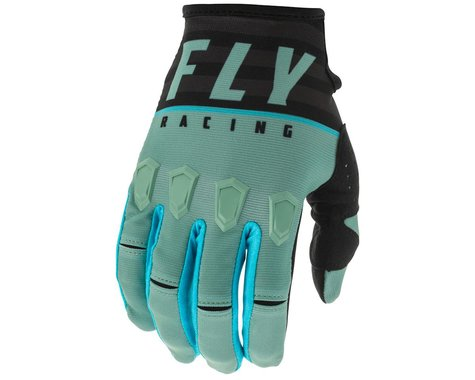 Fly Racing Kinetic K120 Gloves (Sage Green/Black) (XL)