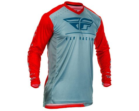 Fly Racing Lite Jersey (Red/Slate/Navy) (L)