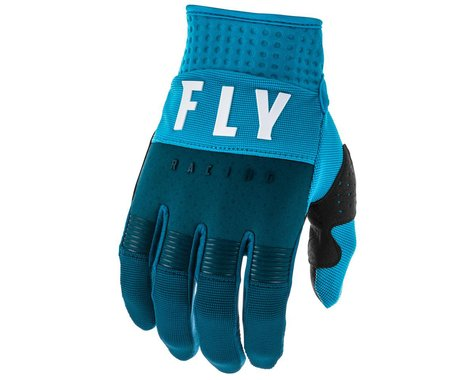 Fly Racing F-16 Gloves (Navy/Blue/White) (Youth 3XS)