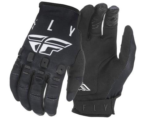 Fly Racing Kinetic K121 Gloves (Black/White) (XS)