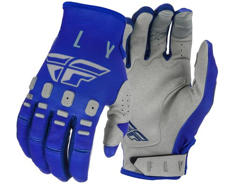 Fly Racing Kinetic K121 Gloves (Blue/Navy/Grey) (S)