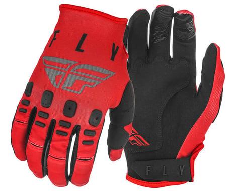 Fly Racing Kinetic K121 Gloves (Red/Grey/Black) (M)