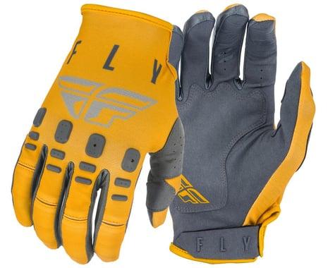 Fly Racing Kinetic K121 Gloves (Mustard/Stone/Grey) (S)