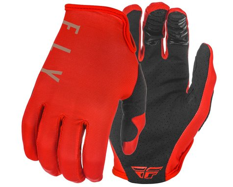 Fly Racing Lite Gloves (Red/Khaki) (XS)