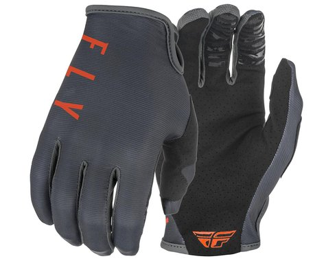 Fly Racing Lite Gloves (Grey/Orange) (XS)