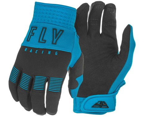 Fly Racing F-16 Gloves (Blue/Black) (Youth L)