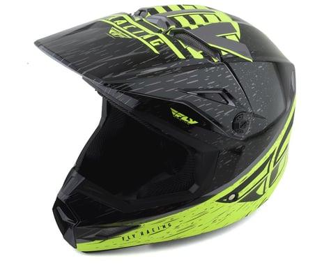 Fly Racing Kinetic K120 Youth Helmet (Hi-Vis/Grey/Black) (Youth M)