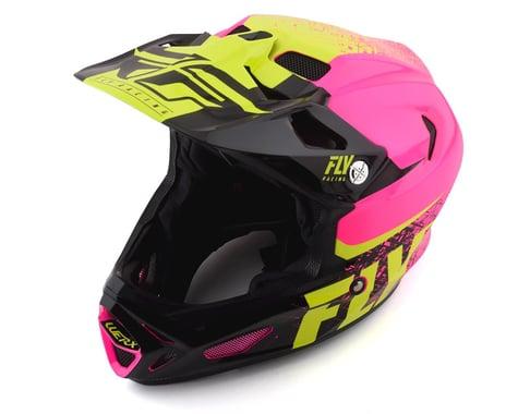 Fly Racing Werx Carbon Helmet (Pink/Hi-Vis) (S)