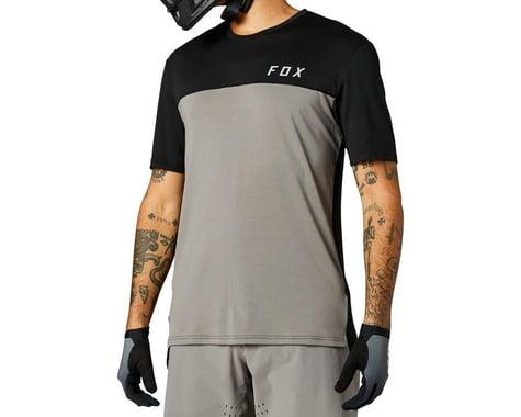 Fox Racing Flexair Delta Short Sleeve Jersey (Pewter) (L)