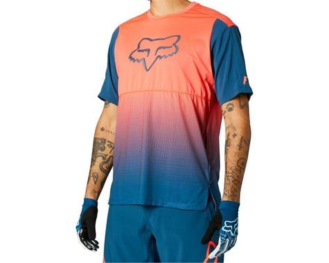 Fox Racing Flexair Short Sleeve Jersey (Atomic Punch) (L)