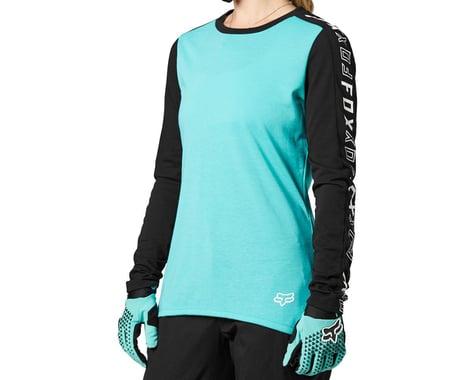 Fox Racing Women's Ranger DriRelease Long Sleeve Jersey (Teal) (M)
