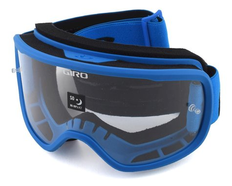 Giro Tempo Mountain Goggles (Blue) (Clear Lens)