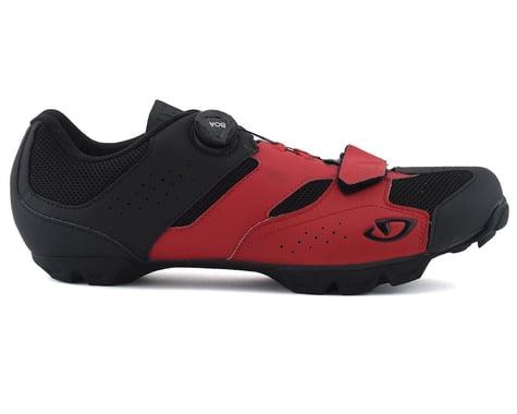 Giro Cylinder Mountain Bike Shoe (Dark Red/Black) (40)